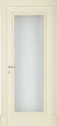 BOHEME-B-sv-Bianco-antico-Laccato-finitura-a-pennello-con-vetro