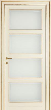 LA-SCALA-sv-Bianco-antico-Laccato-finitura-a-pennello-foglia-oro