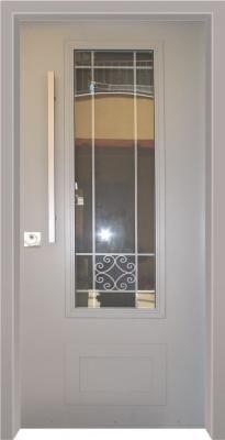 דלת כניסה מעוצבת בסגנון נפחות 8003