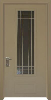 דלת כניסה מעוצבת בסגנון נפחות 8009