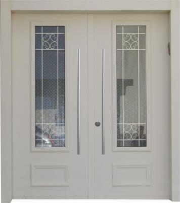 דלת כניסה מעוצבת בסגנון נפחות 8010