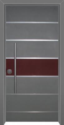 דלת כניסה מעוצבת בסיגנון מודרני 1036