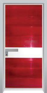 דלת כניסה מעוצבת בסיגנון מודרני 1037