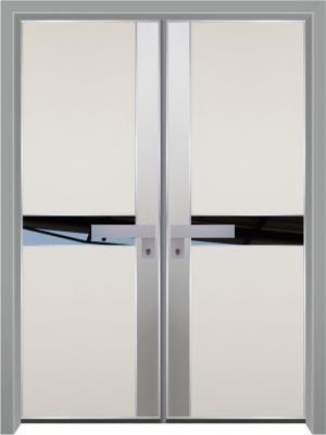דלת כניסה מעוצבת מסדרת הייטק 1097