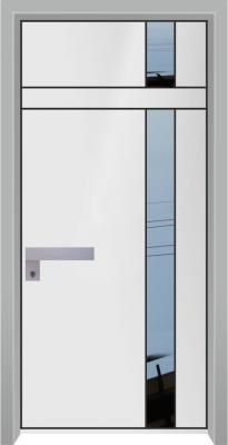 דלת כניסה מעוצבת מסדרת הייטק 1098