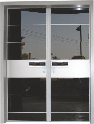 דלת כניסה מעוצבת מסדרת יהלום 1056