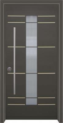 דלת כניסה מעוצבת מסדרת עדן 2014
