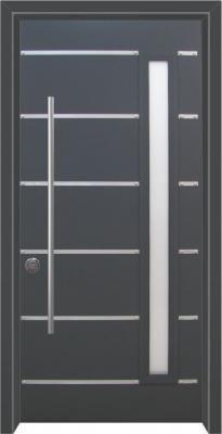 דלת כניסה מעוצבת מסדרת עדן 2015