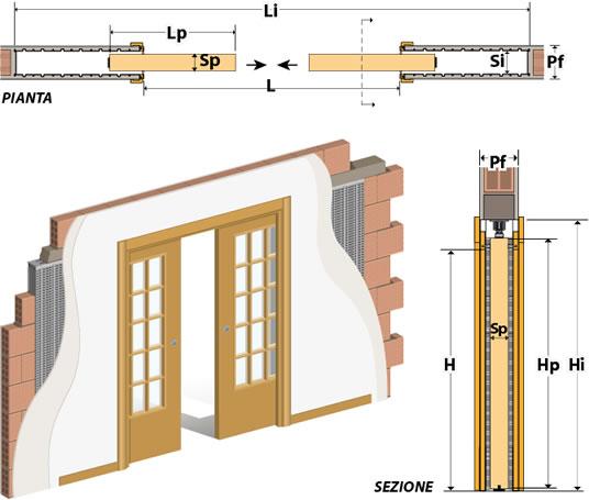כיס בטון 2 דלתות 011