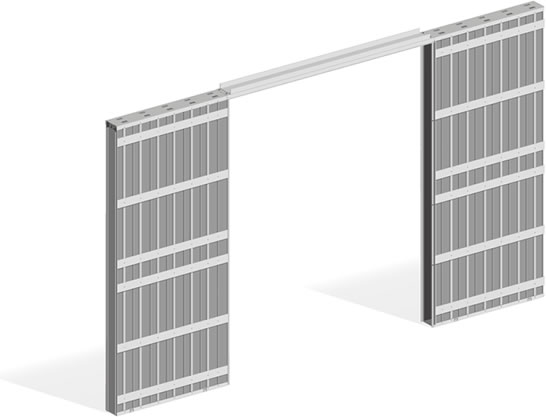 כיס גבס 2 דלתות - 022