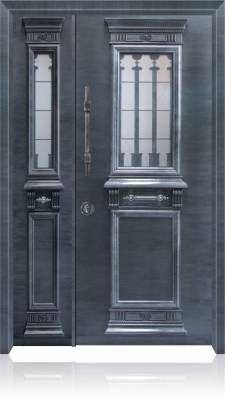 6007 דלת כניסה מעוצבת בסיגנון יווני