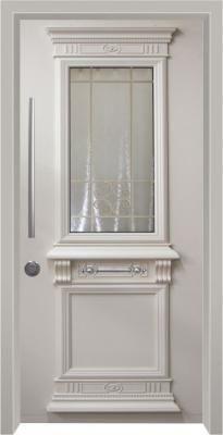 6009 דלת כניסה מעוצבת בסיגנון יווני