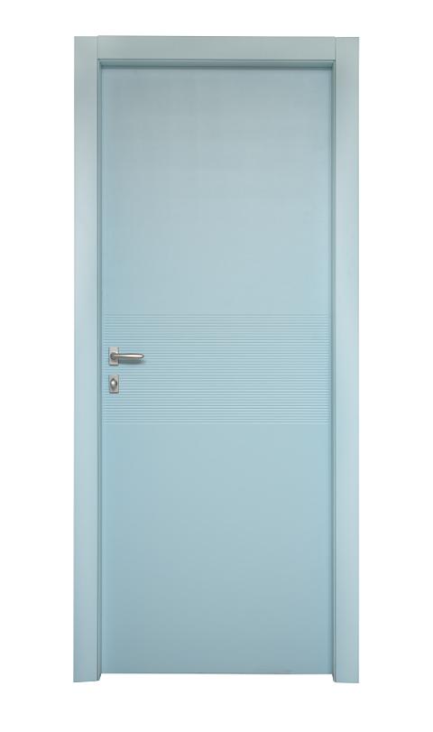 דלת דגם ספיר כחולה