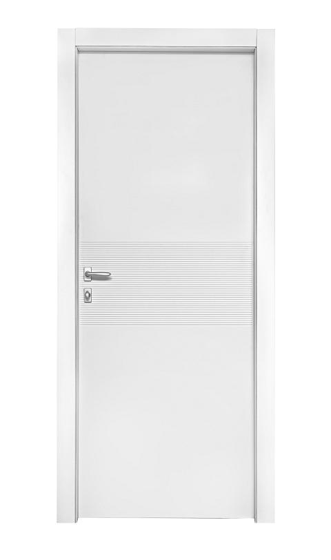 דלת דגם ספיר לבנה