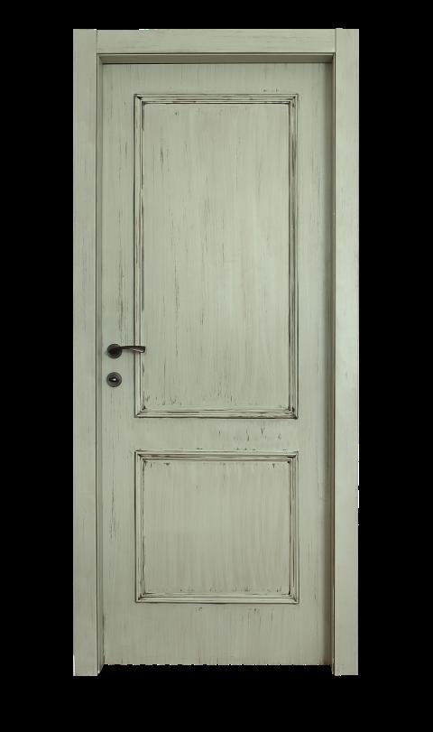דלת דגם ORI פאטינה ירוק