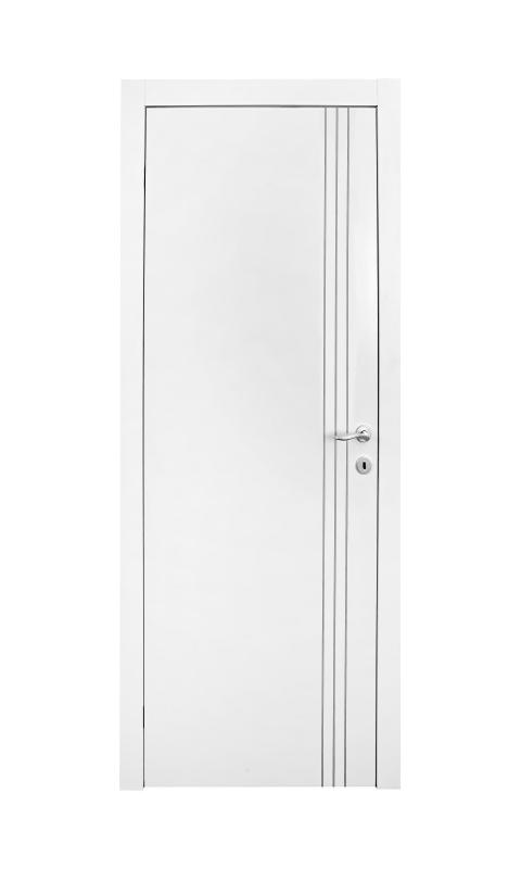 דלת למינטו מדגם 3 פסי ניקל לגובה