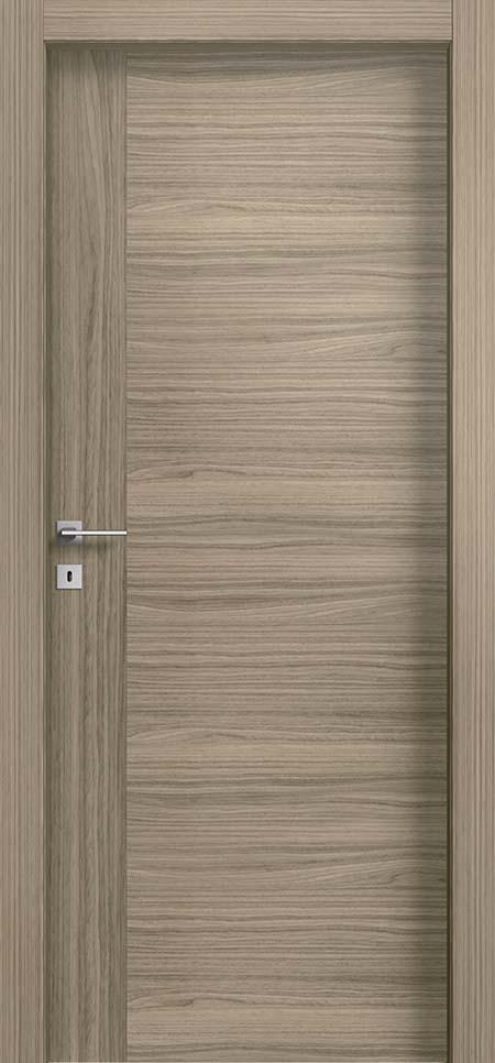 דלת פורניר מדגם NOCCIOLA STRIP
